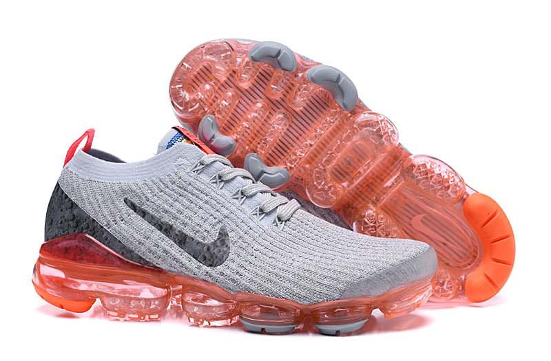Cheapest Wholesale Nike Air VaporMax 3.0 Bright Mango Pure Platinum-Black-White-Metallic Silver AJ6900-800 - www.wholesaleflyknit.com