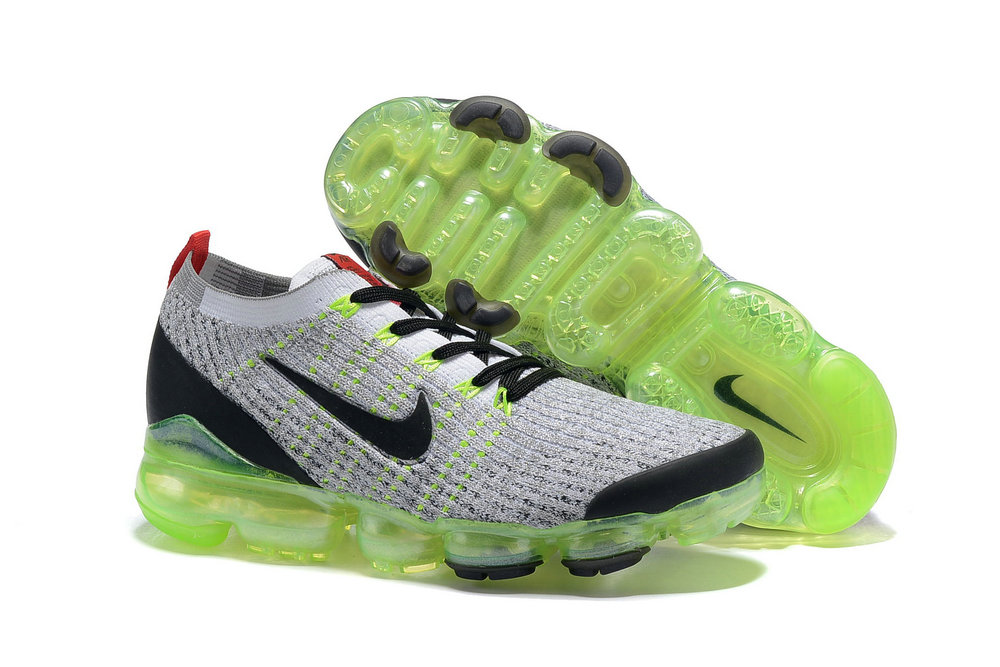 Cheapest Wholesale Nike Air VaporMax 3.0 White-Black-Volt-Bright Crimson-Metallic Silver AJ6900-100 - www.wholesaleflyknit.com
