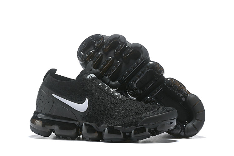 Cheap Wholesale Nike Air VaporMax Flyknit 2.0  Shoes Black White- www.wholesaleflyknit.com