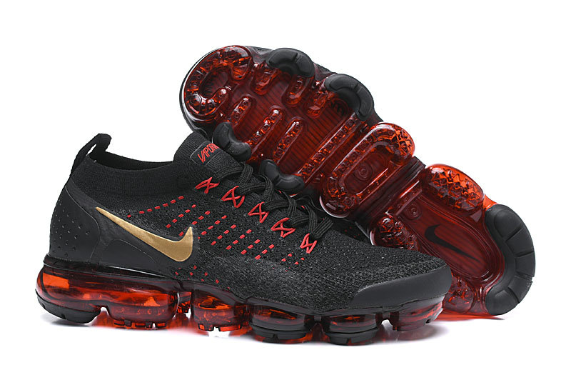 Cheapest Wholesale Nike Air VaporMax Flyknit 2.0 Chinese New Year Black Red BQ7036-001 - www.wholesaleflyknit.com