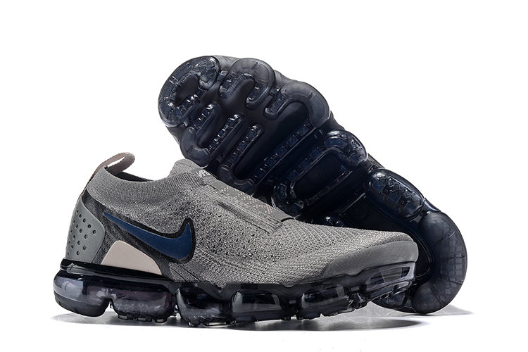 Cheap Wholesale Nike Air VaporMax Flyknit 2.0 Womens Shoes Blue Grey Black- www.wholesaleflyknit.com
