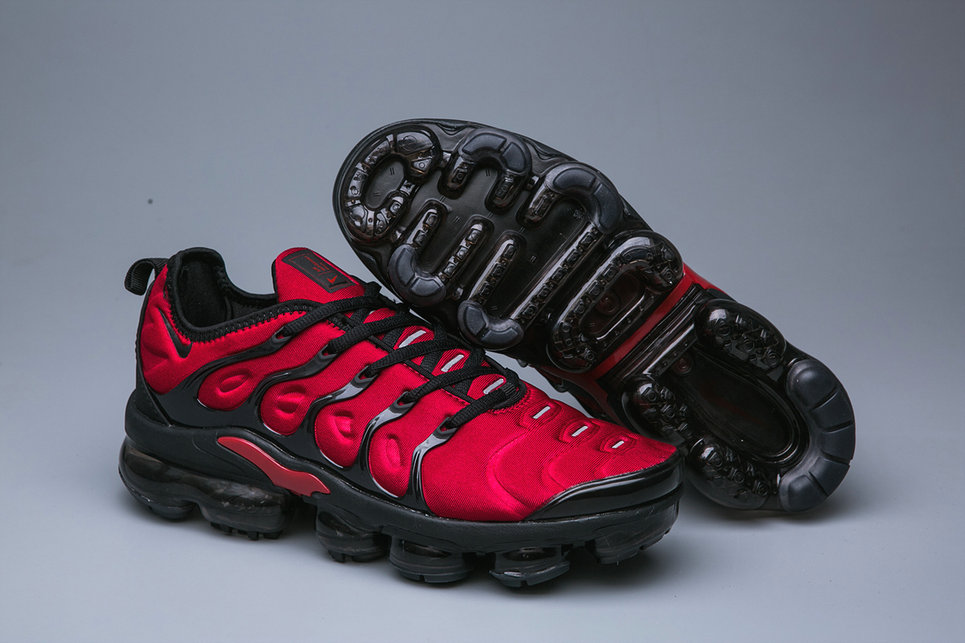 Cheap Wholesale Nike Air VaporMax Plus Deep Red Black - www.wholesaleflyknit.com