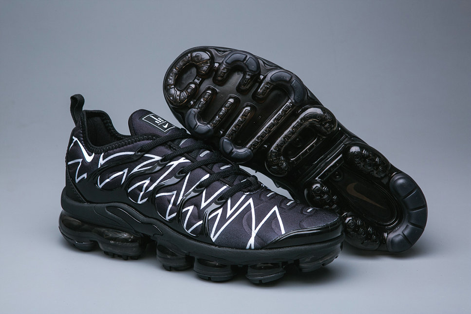 Cheap Wholesale Nike Air VaporMax Plus White Red Fashion Sneakers - www.wholesaleflyknit.com