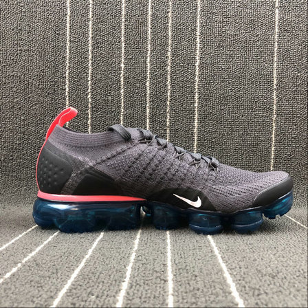 Cheap Wholesale Nike Air Vapormax FLYKNIT 2.0 942842-009 Thunder Grey White  Geode Teal Gris c5ee78e77