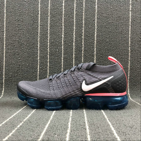 official photos 13e05 b1bd7 Cheap Wholesale Nike Air Vapormax FLYKNIT 2.0 Mens 942842-009 Thunder Grey  White Geode Teal