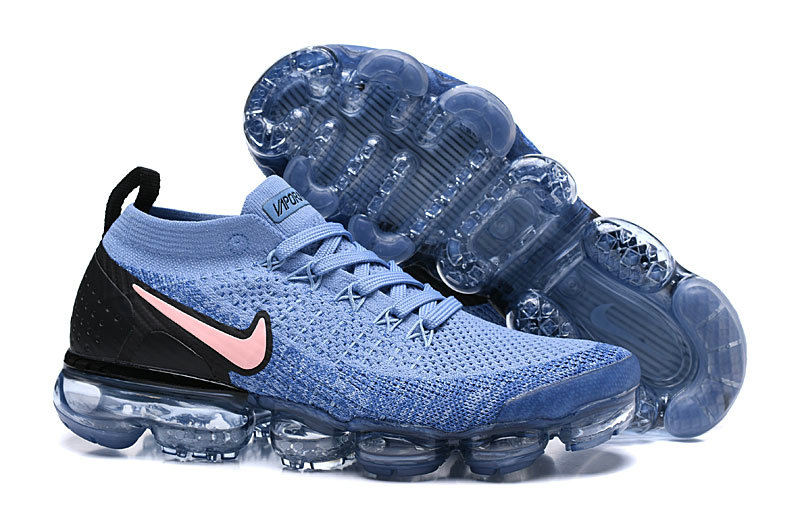 Cheapest Wholesale Nike Air Vapormax Flyknit 2 - Nike - 942842 401 - gym blue bordeaux-college navy - www.wholesaleflyknit.com