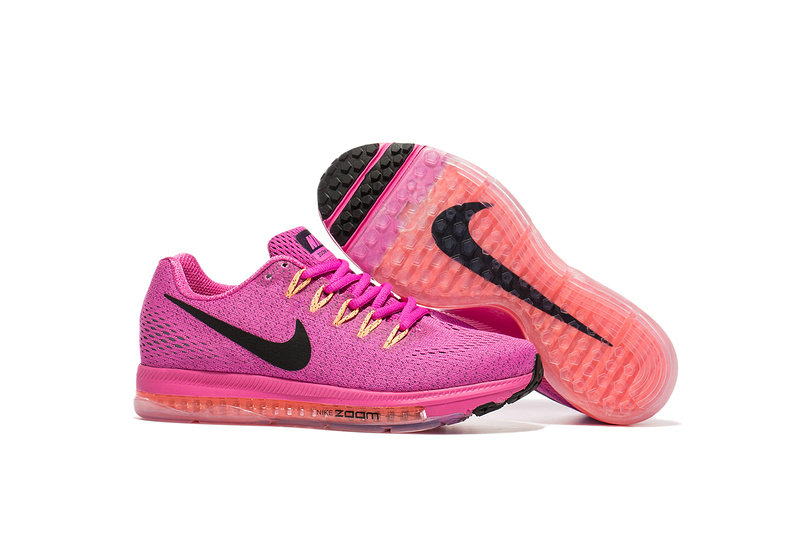 Wholesale Cheap Nike Air Zoom All Out Flyknit Womens Pink Black Red - www.wholesaleflyknit.com