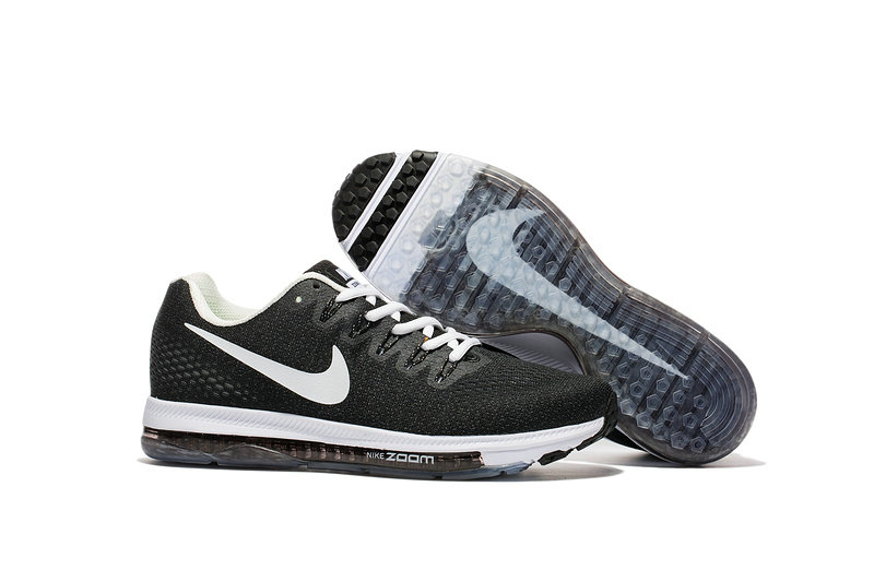 Wholesale Cheap Nike Air Zoom All Out Flyknit Womens White Black Grey - www.wholesaleflyknit.com