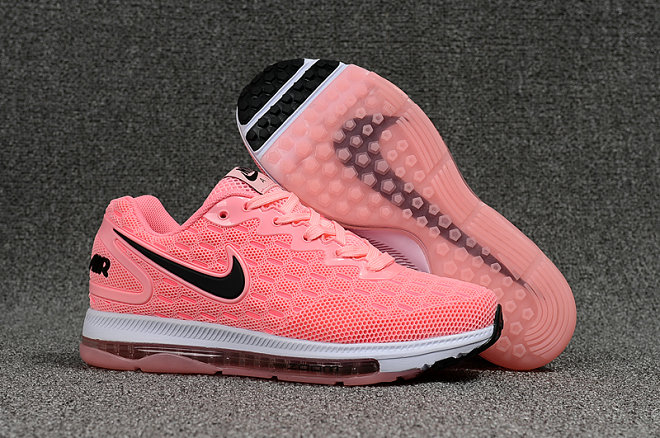 Wholesale Cheap Nike Air Zoom All Out Womens Pink White Black Running - www.wholesaleflyknit.com