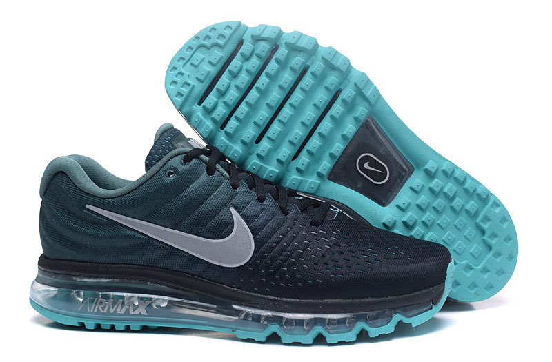 Wholesale Cheap Nike AirMax2017 Running Shoes Grass Green Grey Black - www.wholesaleflyknit.com