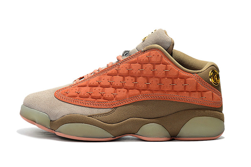 Cheapest Wholesale Nike Clot x Air Jordan 13 Low AT3102-200 Sepia Stone Canteen-Terra Blush - www.wholesaleflyknit.com