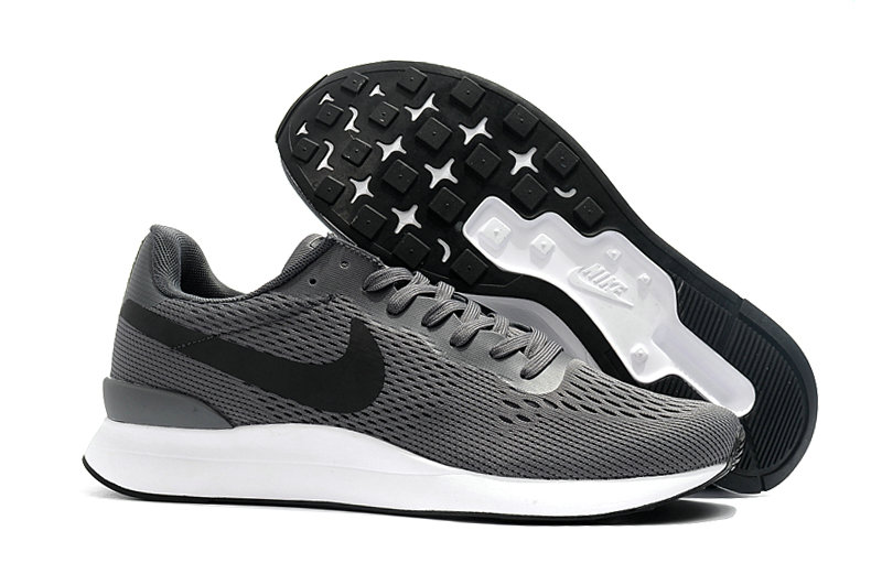 Wholesale Cheap Nike Internationalist LT 17 Mens Grey Black White - www.wholesaleflyknit.com
