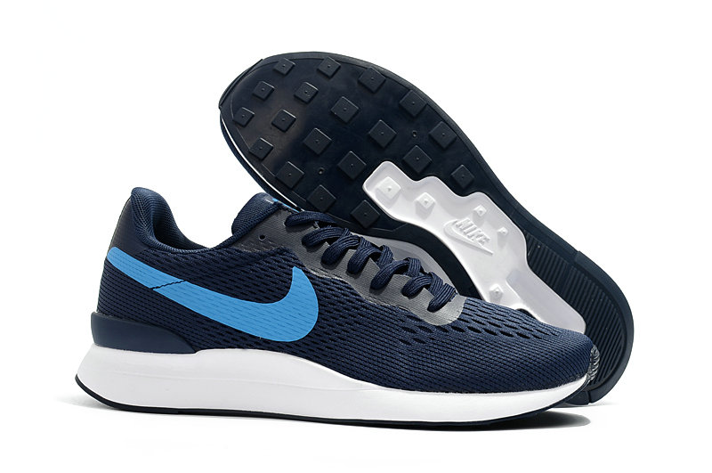 Wholesale Cheap Nike Internationalist LT 17 Mens Navy Blue White - www.wholesaleflyknit.com