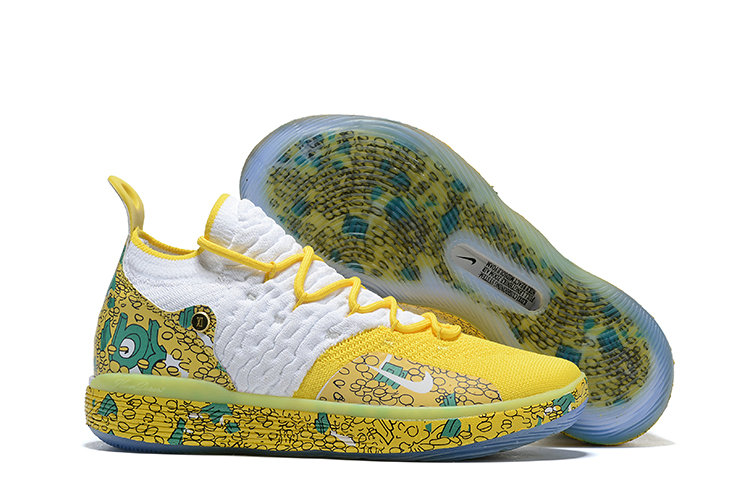Cheapest Wholesale Nike KD 11 Scrooge Mcduck PE Christmas Day - www.wholesaleflyknit.com