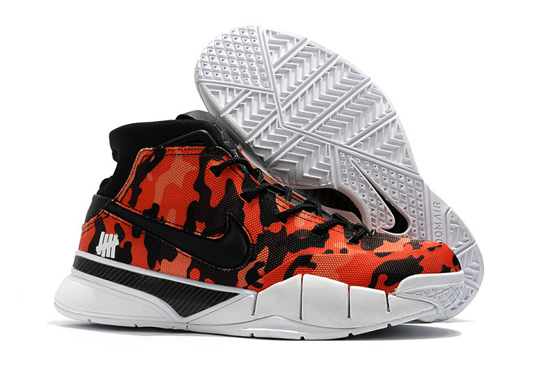 Wholesale Cheap Nike Kobe 1 Protro Mens Black Red White - www.wholesaleflyknit.com