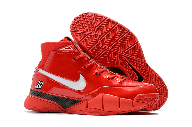 Cheapest Wholesale Nike Kobe 1 Protro Red White Black - www.wholesaleflyknit.com