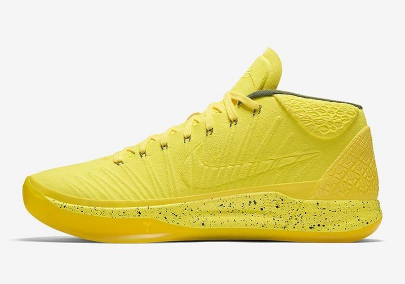 Wholesale Cheap Nike Kobe A.D. Mid Optimism Yellow For Sale - www.wholesaleflyknit.com