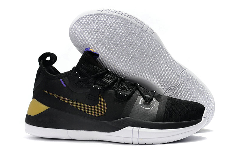 Cheap Wholesale Nike Kobe AD Lakers Pack Gold Black White - www.wholesaleflyknit.com