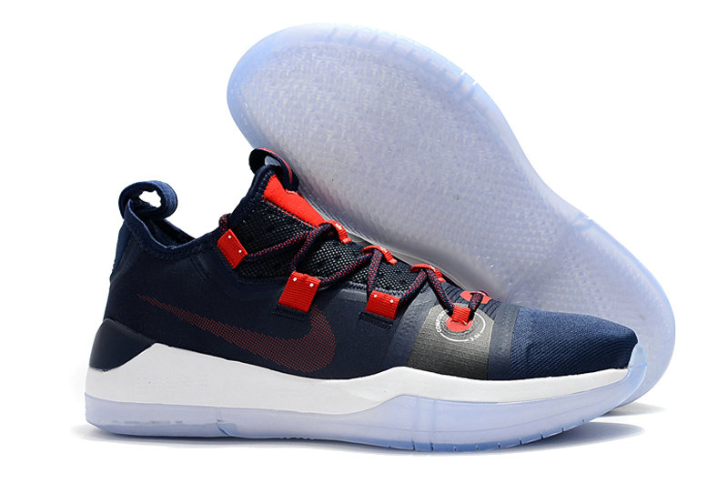 Cheap Wholesale Nike Kobe AD Lakers Pack Navy Blue Red White - www.wholesaleflyknit.com