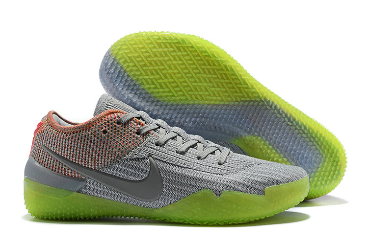Cheap Wholesale Nike Koke NXT 360 Silver Grey Orange Green On www.wholesaleoffwhite.com