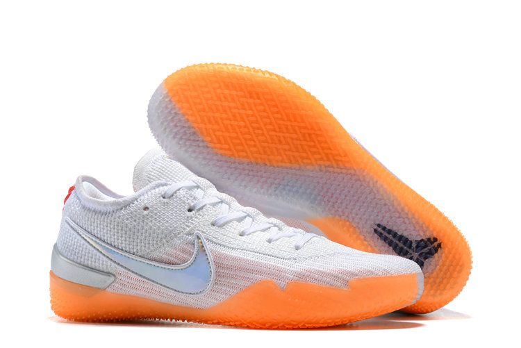 Cheap Wholesale Nike Koke NXT 360 White Orange Silver Grey On www.wholesaleoffwhite.com