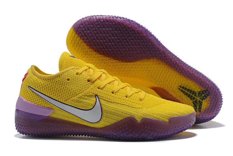 Cheap Wholesale Nike Koke NXT 360 Yellow Purple Grey On www.wholesaleoffwhite.com