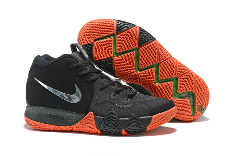 bf258650c56 Cheap Wholesale Nike Kyrie 4 Irving Basketball Shoes Silver Grey Black  Orange- www.wholesaleflyknit