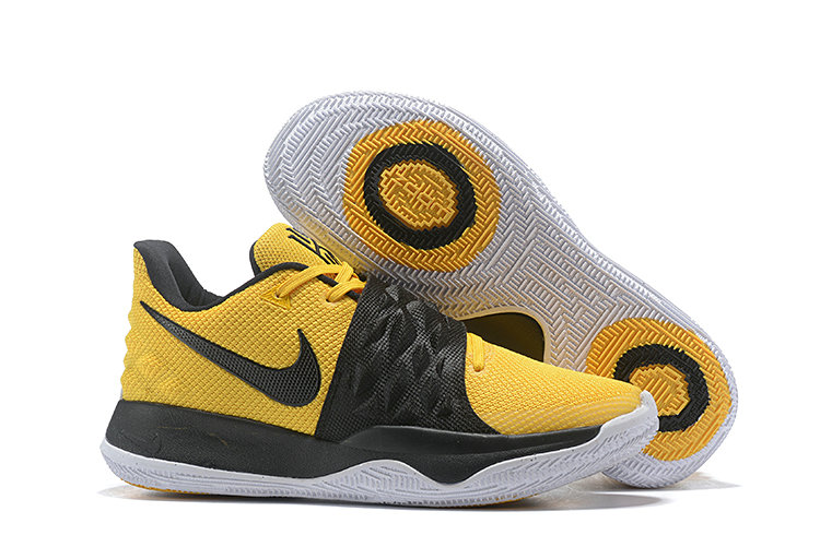 Cheapest Wholesale Nike Kyrie 4 Low Amarillo Black AO8979-700 - www.wholesaleflyknit.com