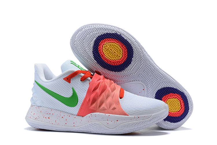 Cheapest Wholesale Nike Kyrie 4 Low EP White Red Green - www.wholesaleflyknit.com