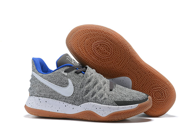 Cheapest Wholesale Nike Kyrie 4 Low Uncle Drew Atmosphere Grey White AO8979-005 - www.wholesaleflyknit.com
