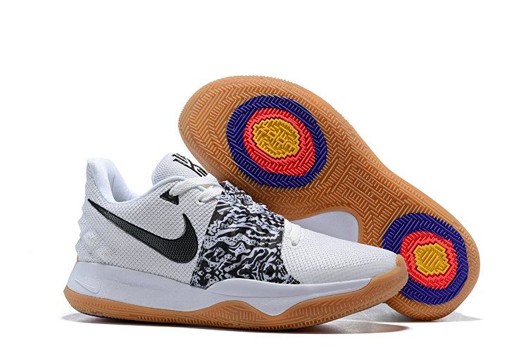 Cheapest Wholesale Nike Kyrie 4 Low White Black AO8979-100 - www.wholesaleflyknit.com