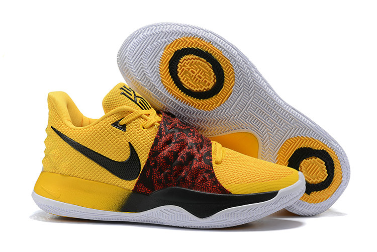 Cheapest Wholesale Nike Kyrie 4 Low Yellow Black Red PE - www.wholesaleflyknit.com