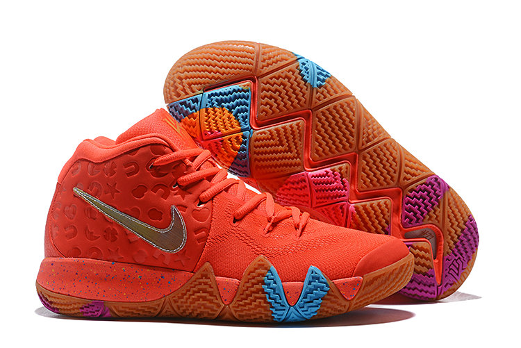 928f7324914 Wholesale Cheap Nike Kyrie 4 Lucky Charms Bright Crimson Multi-Color BV0428- 600-