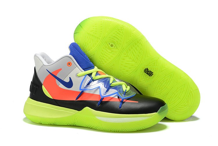 Cheapest Wholesale Nike Kyrie 5 Irvings VI All Star Black Orange Green White Blue - www.wholesaleflyknit.com