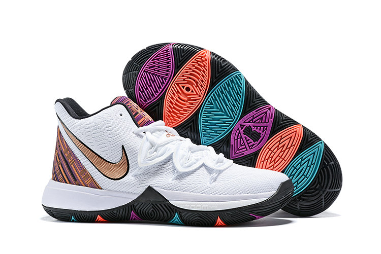 Cheapest Wholesale Nike Kyrie 5 Irvings VI Rose Gold White - www.wholesaleflyknit.com