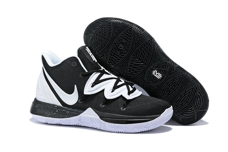 Cheapest Wholesale Nike Kyrie 5 Irvings VI White Black - www.wholesaleflyknit.com