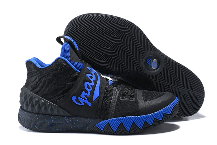 Wholesale Cheap Nike Kyrie S1 Hybrid Black Royal Blue For Sale - www.wholesaleflyknit.com