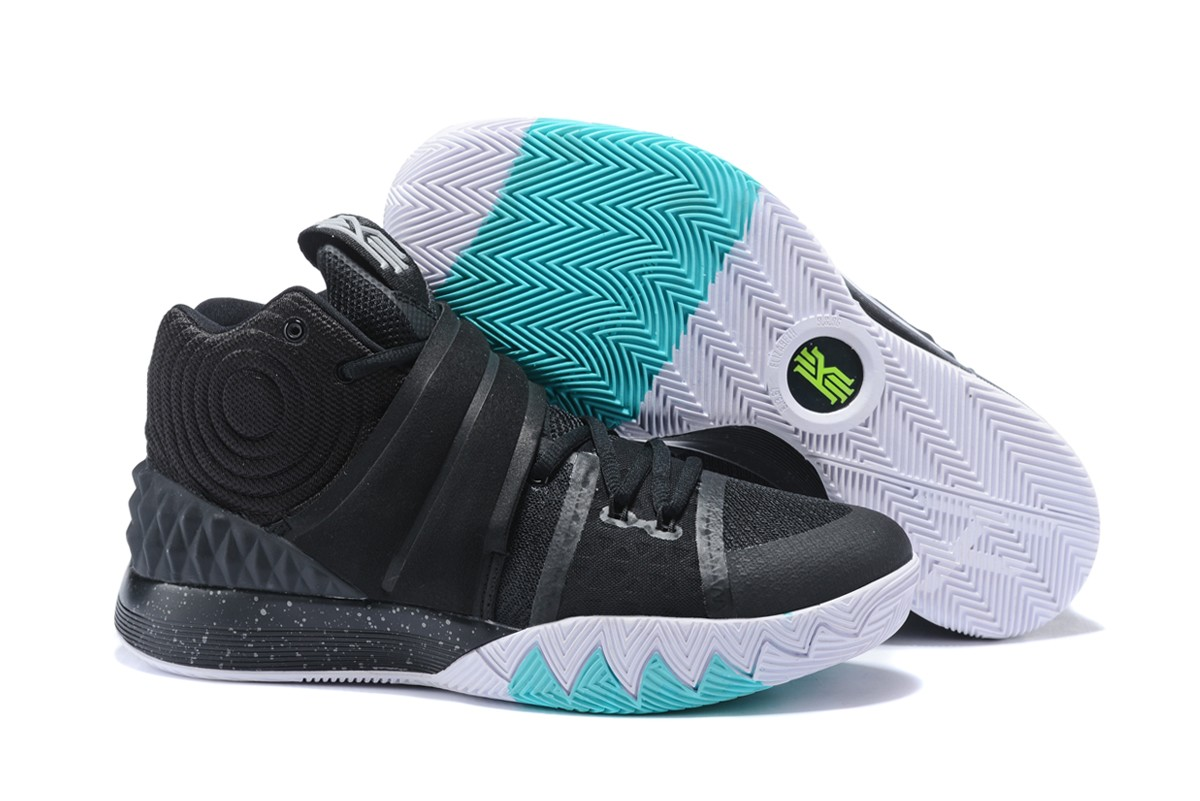 Wholesale Cheap Nike Kyrie S1 Hybrid Black White Teal For Sale - www.wholesaleflyknit.com