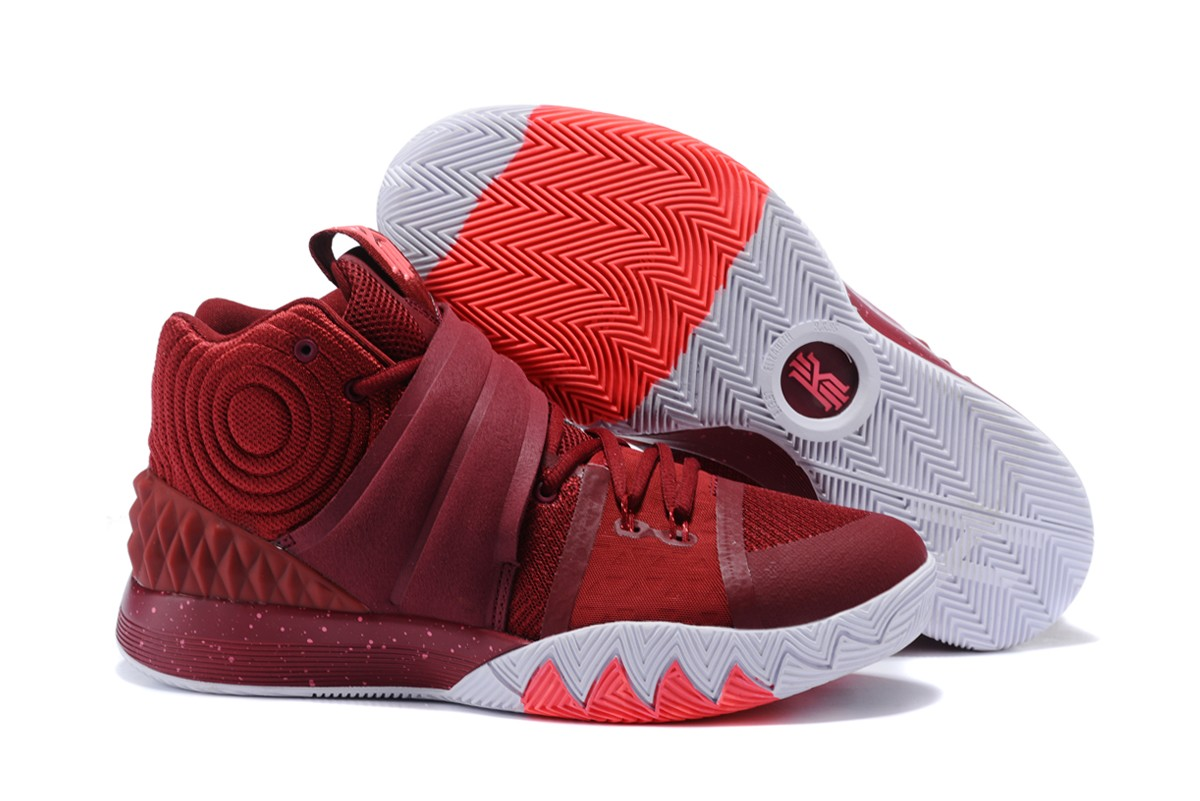 Wholesale Cheap Nike Kyrie S1 Hybrid Burgundy White-Fusion Pink For Sale - www.wholesaleflyknit.com