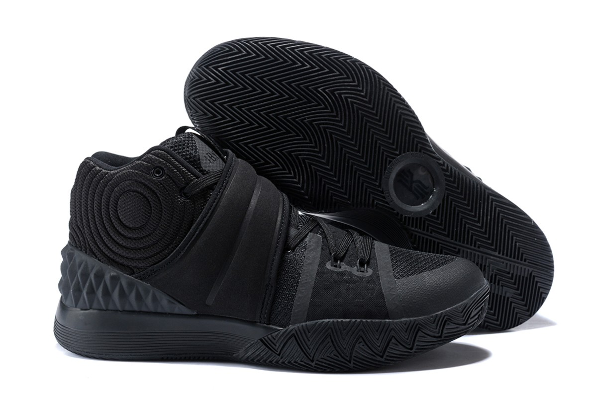 Wholesale Cheap Nike Kyrie S1 Hybrid Triple Black For Sale - www.wholesaleflyknit.com
