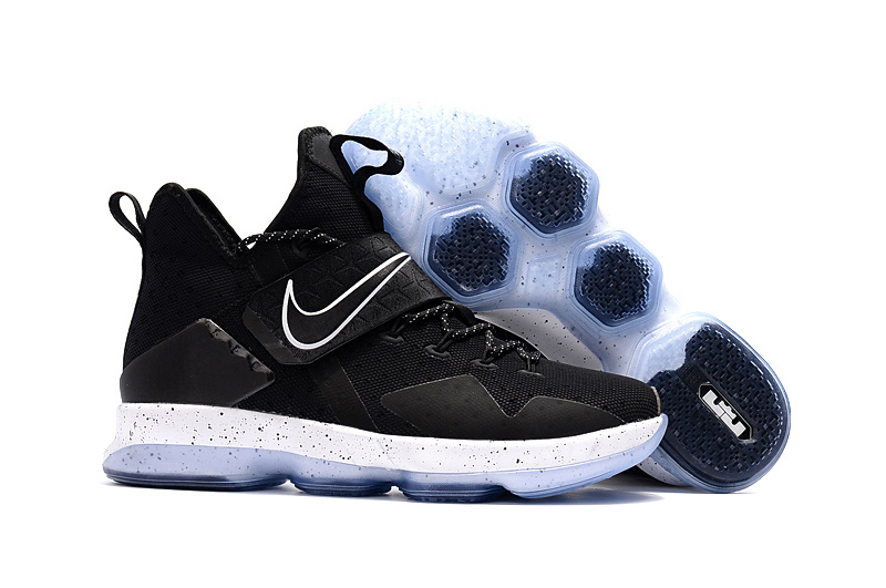 Wholesale Cheap Nike LeBron 14 Black Ice For Sale - www.wholesaleflyknit.com