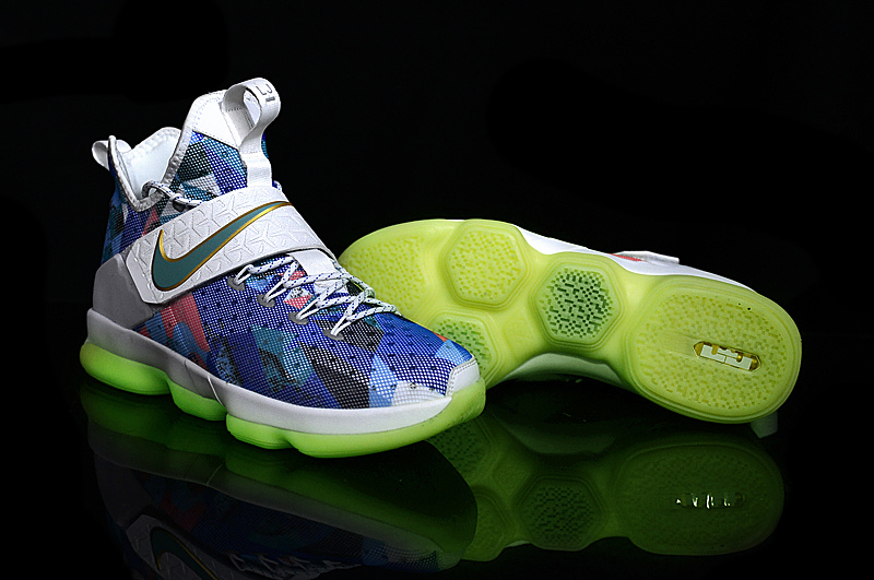 detailed look 5869d 453f0 Wholesale Cheap Nike LeBron 14 Rio Glow In The Dark For Sale -  www.wholesaleflyknit