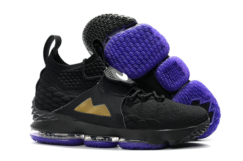 purchase cheap 8df03 91863 Wholesale Cheap Nike LeBron 15 Diamond Turf PE Black Gold ...