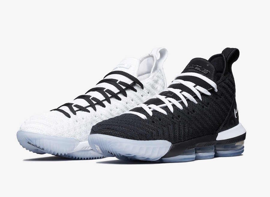 Cheapest Wholesale Nike LeBron 16 Equality Home White Black BQ5969-100 - www.wholesaleflyknit.com