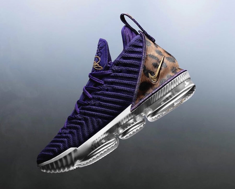 Wholesale Cheap Nike LeBron 16 King Court Purple AO2588-500 Court Purple Metallic Gold-www.wholesaleflyknit.com