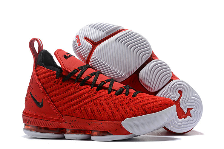 Cheap Wholesale Nike LeBron 16 Red Diamond Turf- www.wholesaleflyknit.com