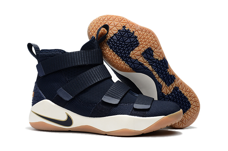 cf5dcaa13b5ae Wholesale Cheap Nike LeBron Soldier 11 Cavs Alternate For Sale -  www.wholesaleflyknit.com
