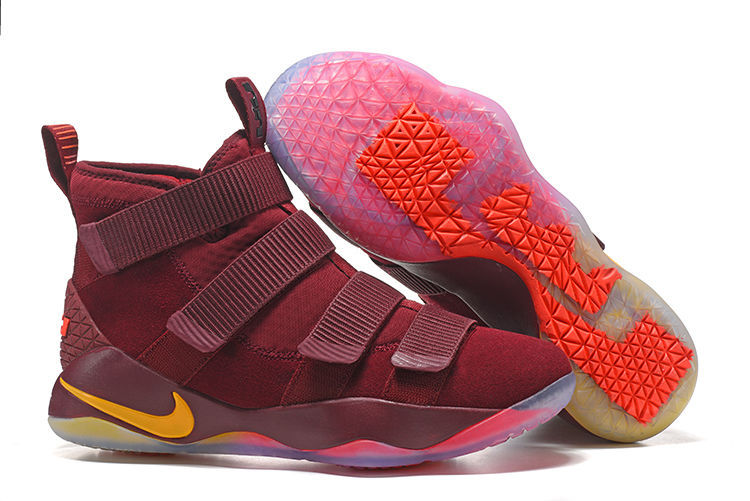 41e4b9dd647 Wholesale Cheap Nike LeBron Soldier 11 Cavs PE Basketball Shoes For Sale -  www.wholesaleflyknit