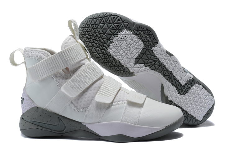 46869a3fa9322 Wholesale Cheap Nike LeBron Soldier 11 SFG Light Bone Dark Stucco-Black For  Sale -