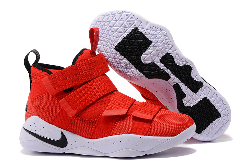 59b739c50a2 Wholesale Cheap Nike LeBron Soldier 11 University Red For Sale -  www.wholesaleflyknit.com